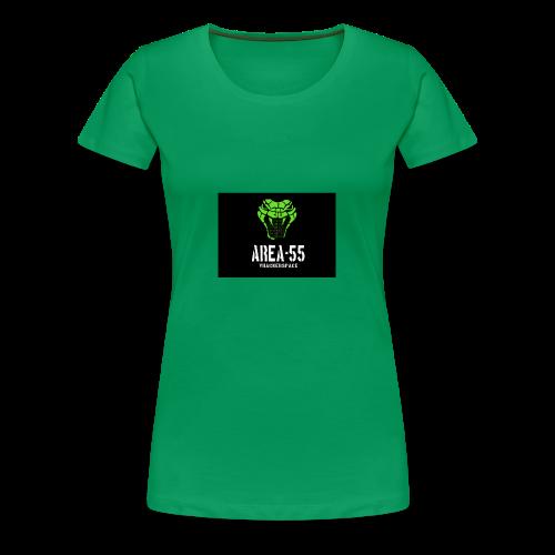 final_Area55_vertical1 - Women's Premium T-Shirt
