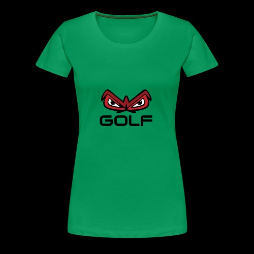 wakefield owl eyes golf - Women's Premium T-Shirt