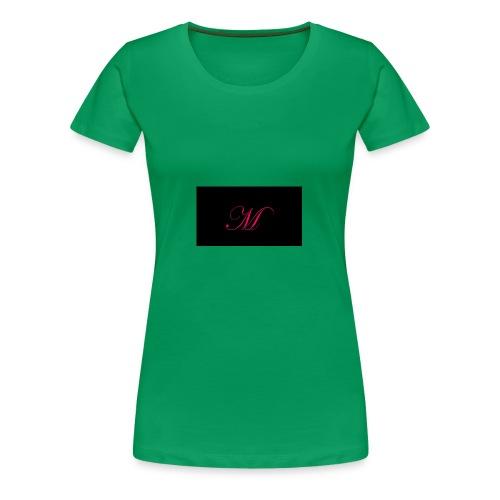EDWARDIAN M MONOGRAM - Women's Premium T-Shirt