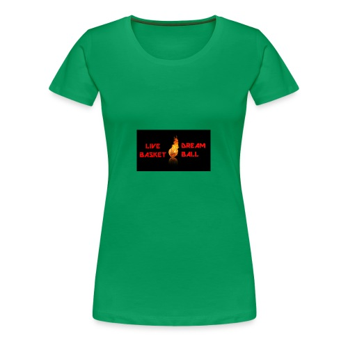 BASKETBALL TSHIRT - Women's Premium T-Shirt