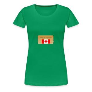 Canadian Couponer - Women's Premium T-Shirt
