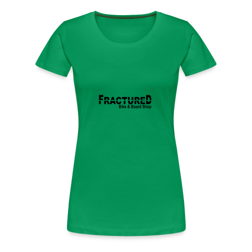 Fractured Logo - Women's Premium T-Shirt