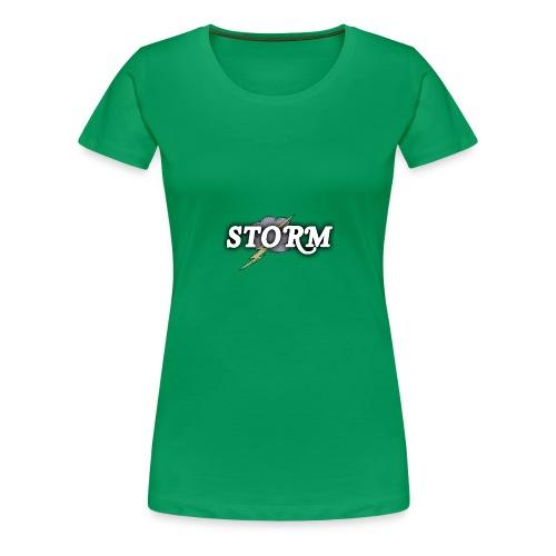 STORM Clan Gaming Thunder Logo - Women's Premium T-Shirt