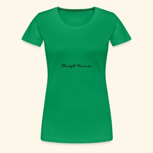 Straight vroomin - Women's Premium T-Shirt