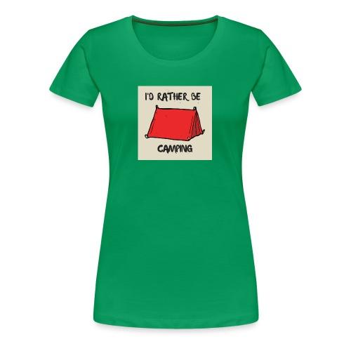 Camping Range - Women's Premium T-Shirt