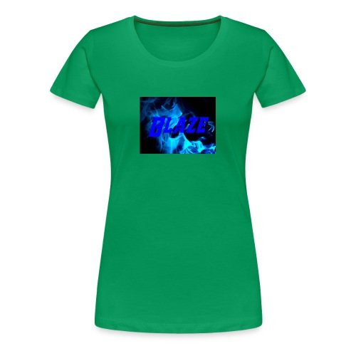 Blue Fire - Women's Premium T-Shirt