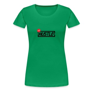 Hustle 110% - Women's Premium T-Shirt