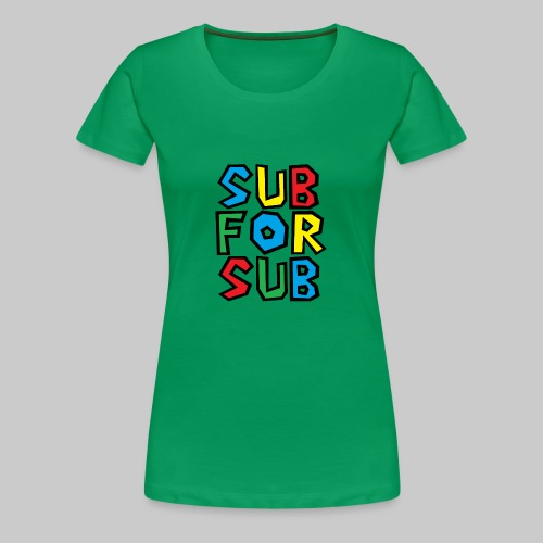 COLORFUL - Women's Premium T-Shirt