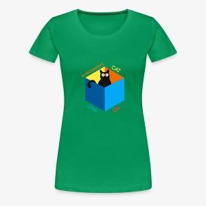 Schrodinger's Cat Lives - Women's Premium T-Shirt
