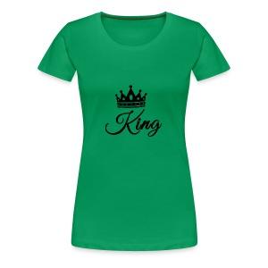 King Tshirt - Women's Premium T-Shirt