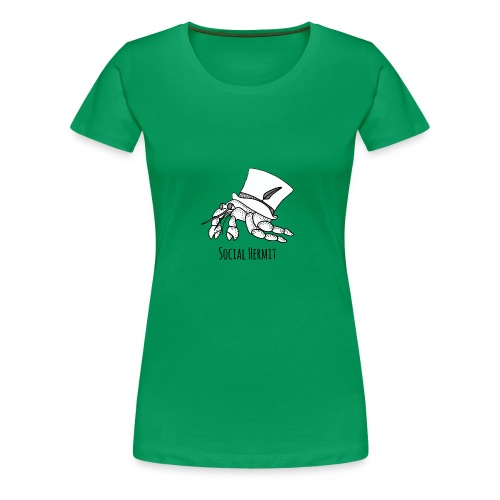 SocialHermit - Women's Premium T-Shirt