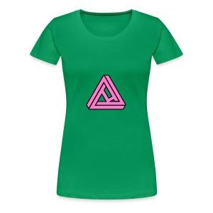 Breast Cancer Awareness Logo - Women's Premium T-Shirt