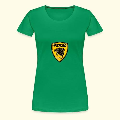 FERAL_EC_Logo - Women's Premium T-Shirt