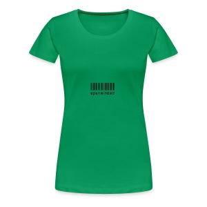 open minded logo - Women's Premium T-Shirt