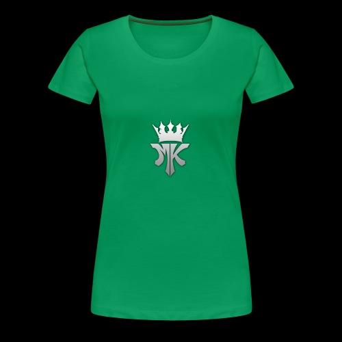 MK orignal logo gray - Women's Premium T-Shirt