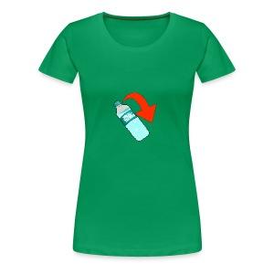 WaterBottle Flip - Women's Premium T-Shirt