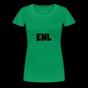 ENL Productions Merchandise (Black) - Women's Premium T-Shirt