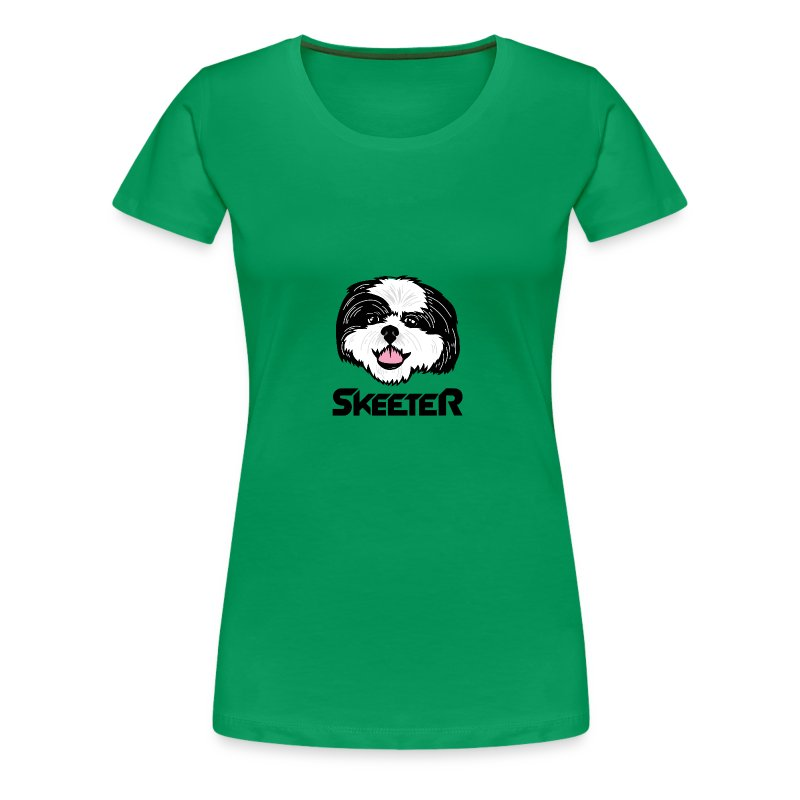 Skeeter Super Hero - Women's Premium T-Shirt