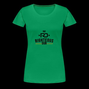 Righteous Dub Logo - Women's Premium T-Shirt