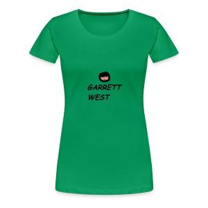 Garrett West With Face - Women's Premium T-Shirt