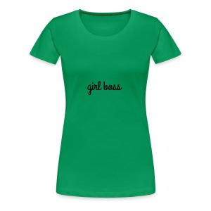 Girl Boss Merch - Women's Premium T-Shirt