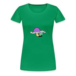 MM text logo - Women's Premium T-Shirt