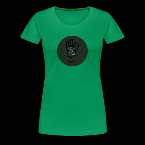 Eddies official youtube shirt - Women's Premium T-Shirt