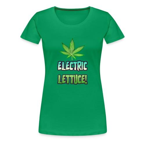 Electric Lettuce! - Women's Premium T-Shirt