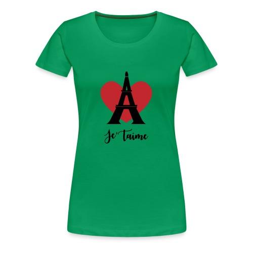 Je'taime Paris - Women's Premium T-Shirt