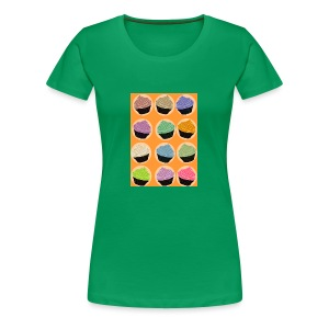 Cupcake TIme - Women's Premium T-Shirt