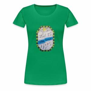 2ième poste Squamish de Hull - T-shirt premium pour femmes