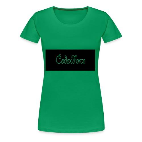 Codex Logo - Women's Premium T-Shirt