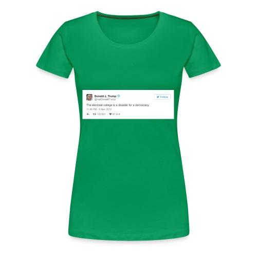 Occasionally, He Tells the Truth - Women's Premium T-Shirt