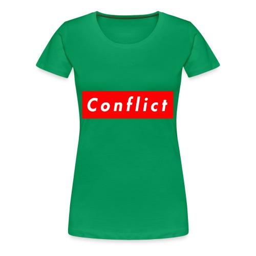 conflict bogo - Women's Premium T-Shirt
