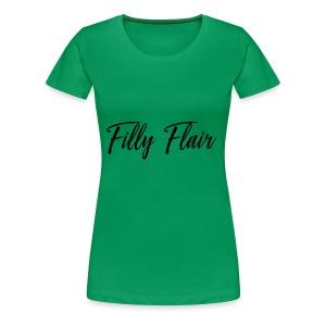 fillyflair blk - Women's Premium T-Shirt