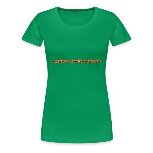 ANSHUL THEGAMER64 - Women's Premium T-Shirt