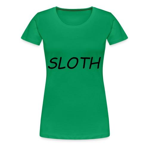 SLOTH XL - Women's Premium T-Shirt