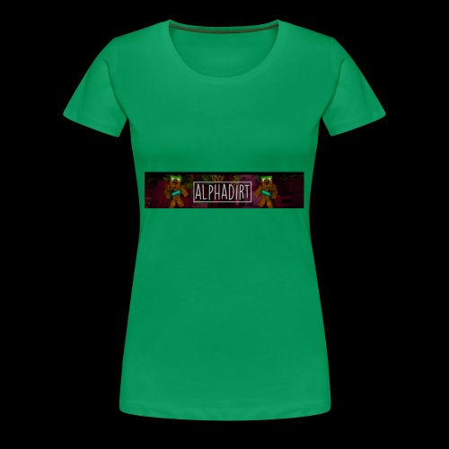 AlphaDirtBanner - Women's Premium T-Shirt