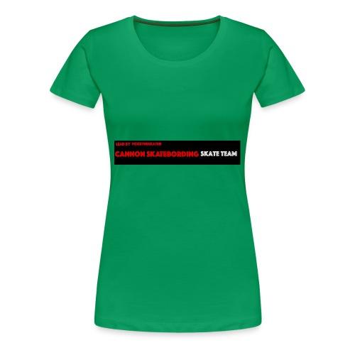 New Skate team apperal - Women's Premium T-Shirt