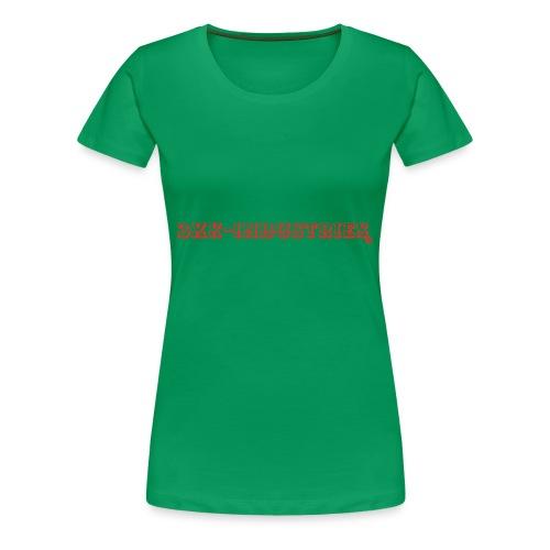Logomakr 8SPEWM - Women's Premium T-Shirt