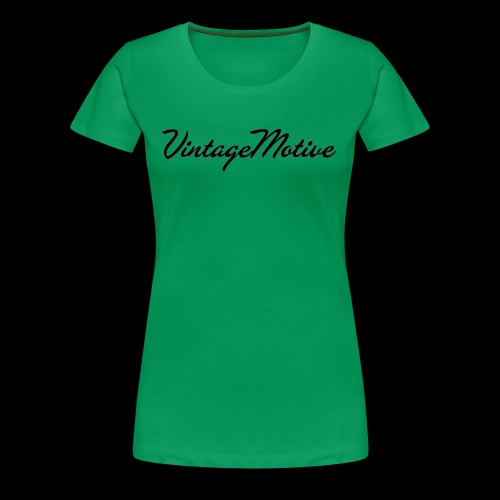 VintageMotive original - Women's Premium T-Shirt