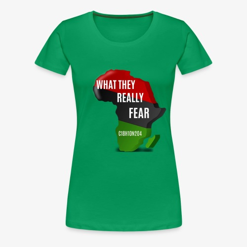 Melanin Formula - Women's Premium T-Shirt