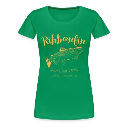 Ribbonfin House (copper) - Women's Premium T-Shirt