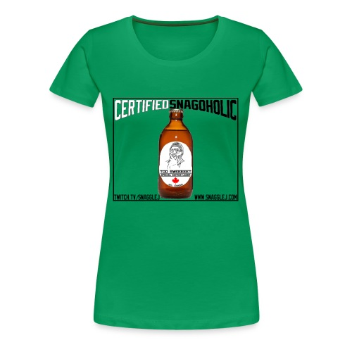Certified Snagoholic - Women's Premium T-Shirt