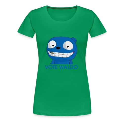Vote Waldo - Women's Premium T-Shirt