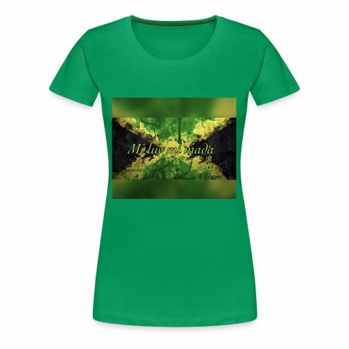 Mi luv mi mada - Women's Premium T-Shirt