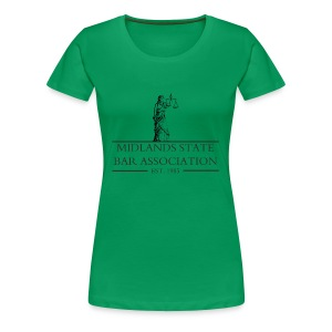 Midlands State Bar Association - Women's Premium T-Shirt
