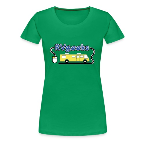 RVgeeks Logo - Women's Premium T-Shirt