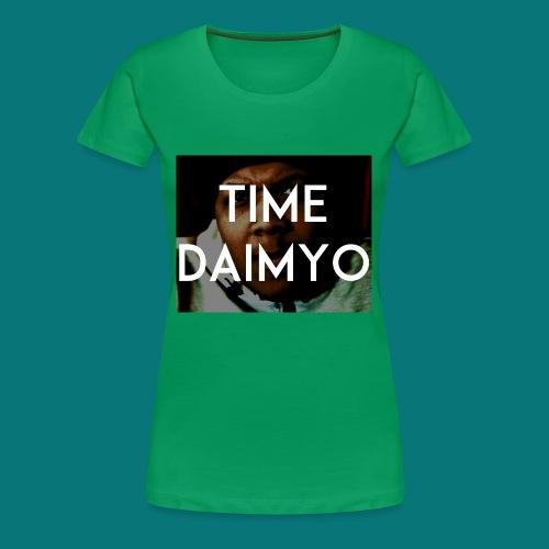 D Time Daimyo - Women's Premium T-Shirt