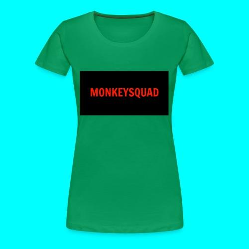 MonkeySquad logo - Women's Premium T-Shirt